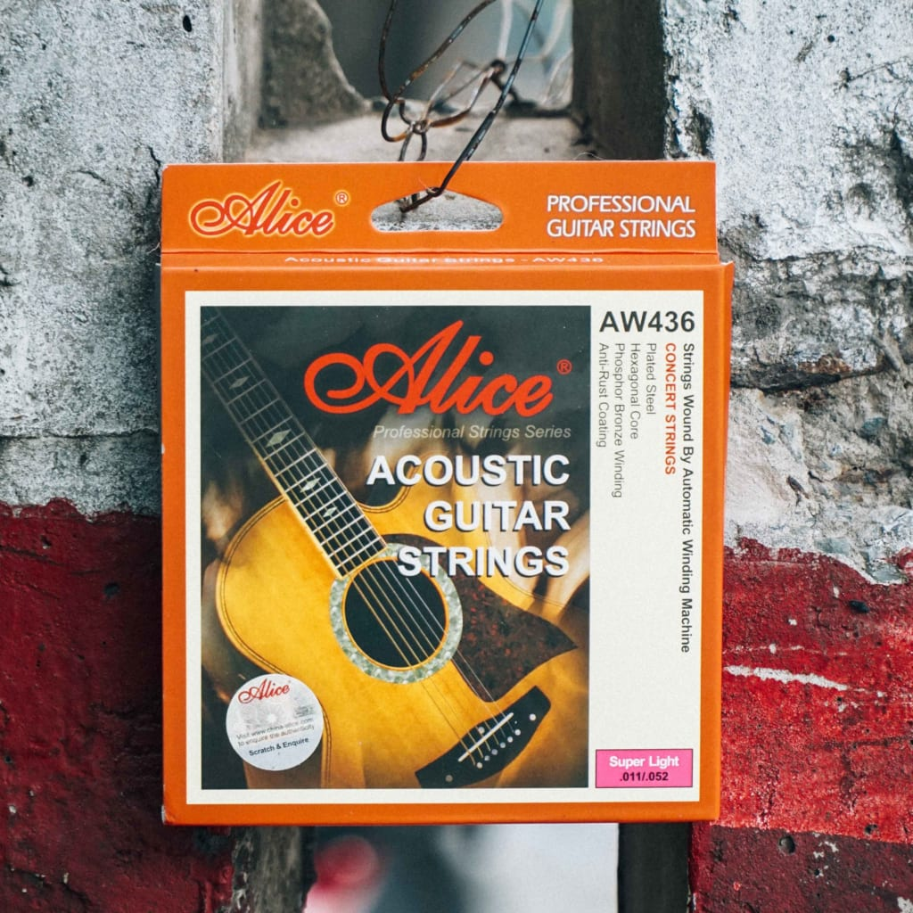 Dây Guitar Acoustic ALICE AW436