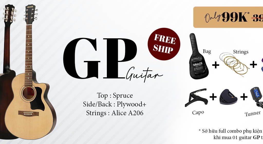 Guitar giá rẻ cho sinh viên